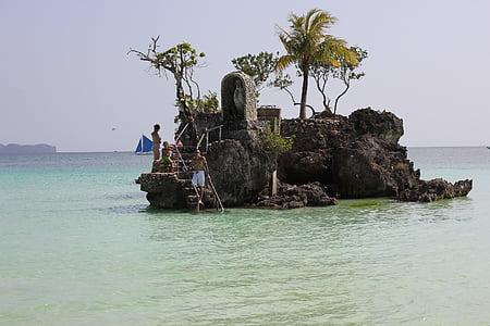 Boracay, Filipinai, Boracay saloje, Gamta, paplūdimys, vandenyno, jūra