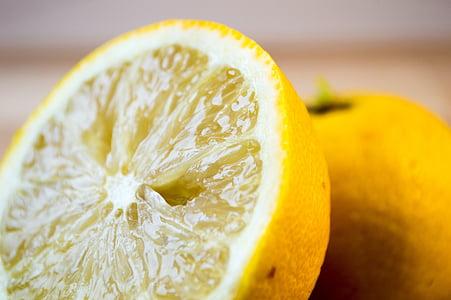 llimona, fruita, cítrics, aliments, calç, groc, Mediterrània