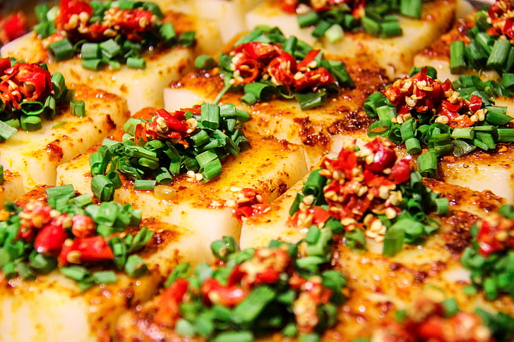 Xina, gurmet, tofu, picant, pebrot vermell, Sichuan, Chengdu
