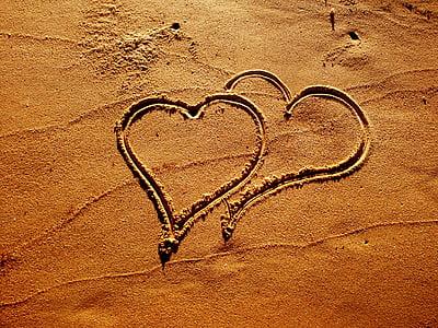 cor, l'amor, Romanç, relació, matrimoni, casament, símbol