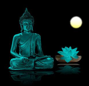 Buddha, meditace, relaxace, meditovat, Buddhismus, wellness, vnitřní klid