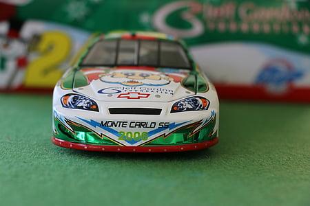 Jeff gordon, Kolekcjoner aut, samochody wyścigowe, autka, Zagraj, wyścigi, wyścig
