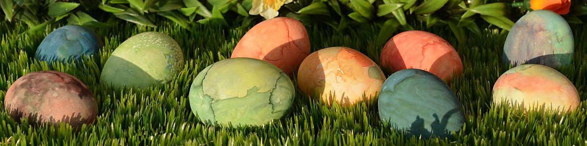 부활절 달걀, 부활절, 달걀, 장식, 부활절 장식, 행복 한 부활절, 다채로운