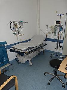 Hospital, Clínica, mèdica, et beneeixi, pacient, metge, malaltia