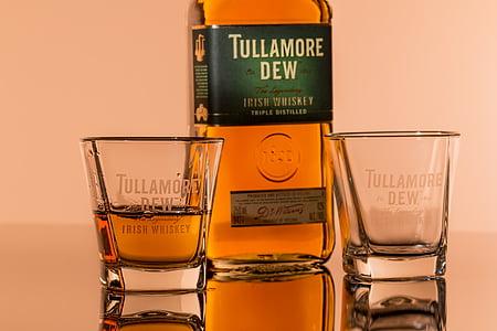 whisky irlandès, l'alcohol, begudes, beguda, whisky, barra, licor