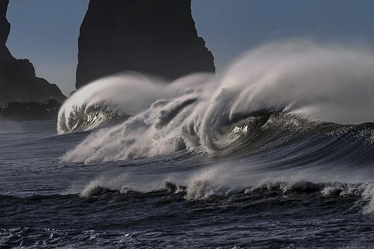 platja, Costa del Pacífic, oceà, Costa, del Pacífic, Mar, marí