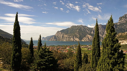 Garda, Lago di garda, Llac, natura, vista sobre el llac, Llombardia