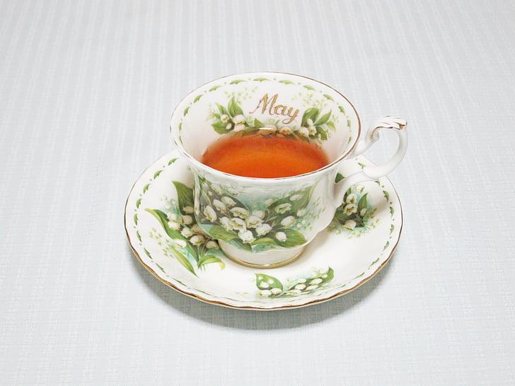 čaj vrijeme, kup, Svibanj, piće, topline - temperatura, čaj - toplo piće