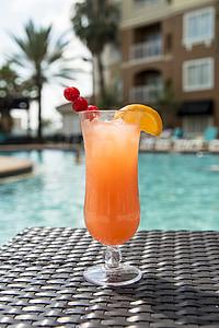 Cocktail, trinken, Pool, Getränke, Sommer, tropische, Erfrischung