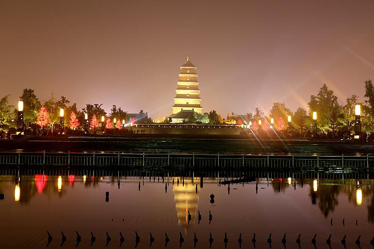 China, die Landschaft, XI, Geschichte, die große Wildgans-Pagode, Asien, Architektur