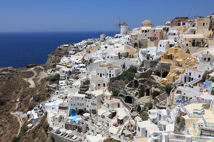 sredozemski, Grčija, Grčija ogledov, Santorini