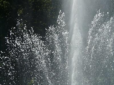 font, l'aigua, d'aigua, mullat, injectar