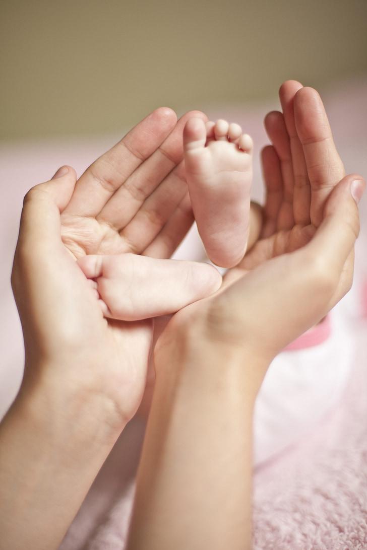 nadó, mare ' braços, cames, mare, braços, cames de nadó