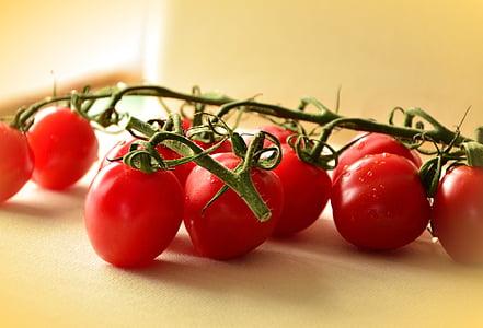 spanten, tomaten, rood, groenten, voedsel, gezonde, Frisch