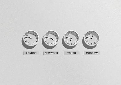 Fotograafia, London, NewYork, Tokyo, Moskva, äri, kellad