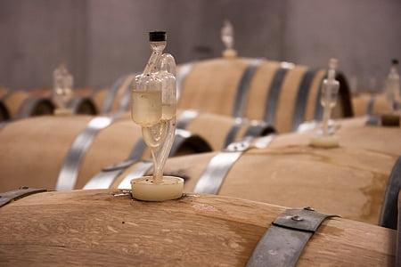 vin, baril, tonneau de vin, barriques, tonneaux en bois, tonneaux de vin, Keller