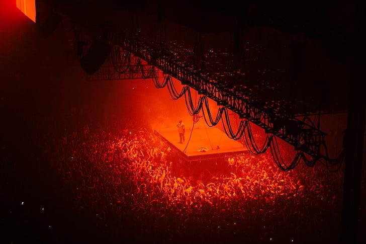 bright, celebration, concert, crowd, entertainer, entertainment, flame