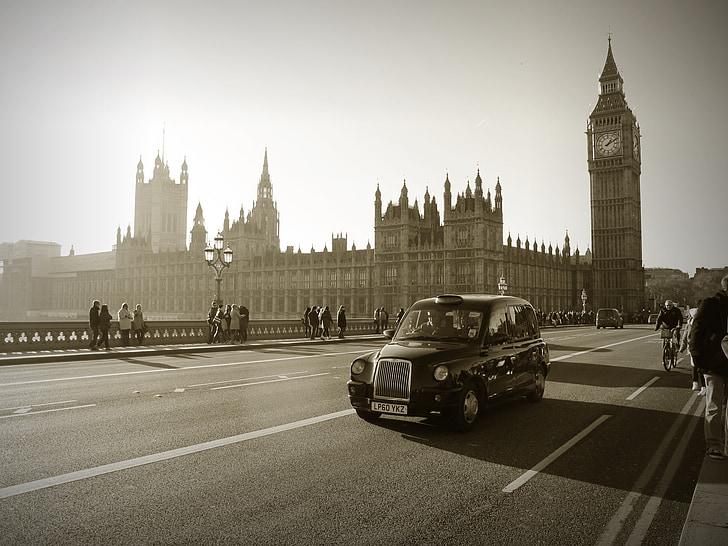 Lontoo, Big ben, parlamentin, Englanti, Iso-Britannia