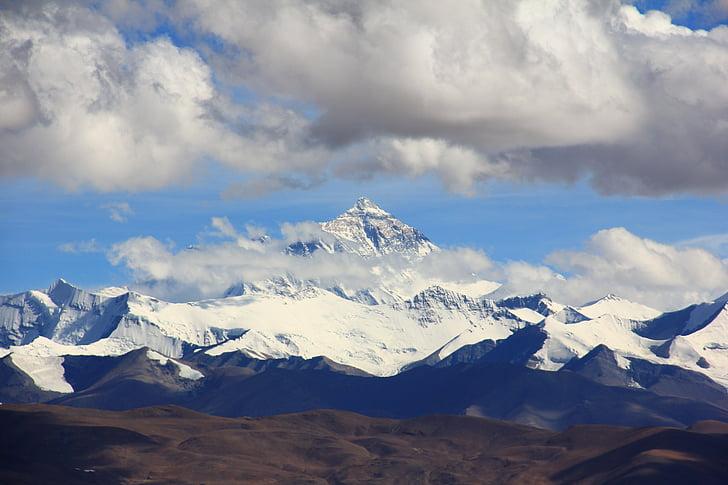 Monte everest, Himalaia, Lhotse, Chomolungma, Panorama, Trekking, caminhadas