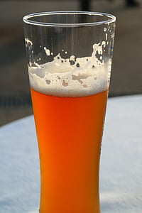 bier, Bierglas, witbier, tarwe, wit, drankje, verfrissing