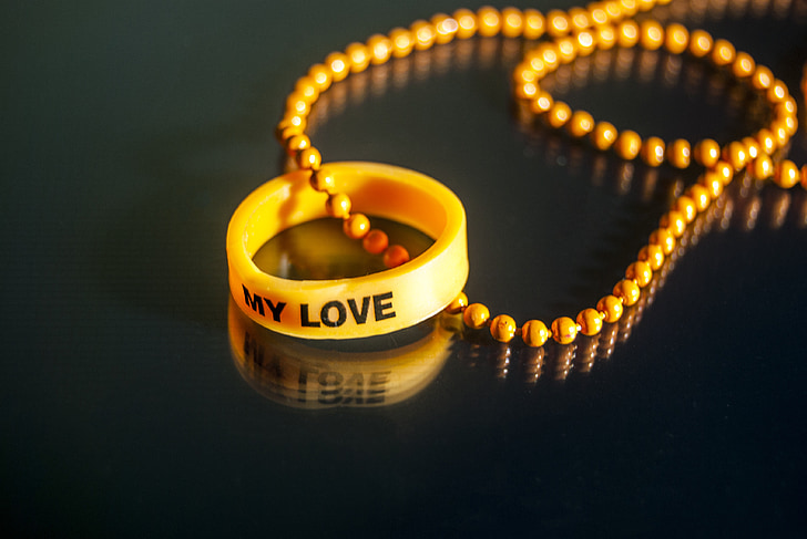 love, my love, necklace, in love