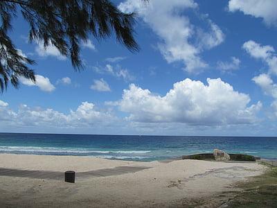 Barbados, mar, Isla, tropical, Océano, Playa, naturaleza