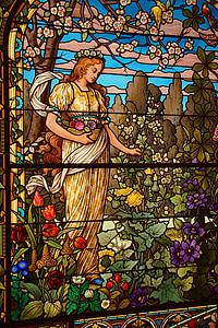 vetro macchiato, arte, arte di vetro macchiato, nuova arte, finestre di vetro macchiate, Museo