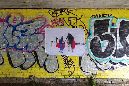 grafiti, dinding, seni, tekstur, perkotaan, Desain, Street
