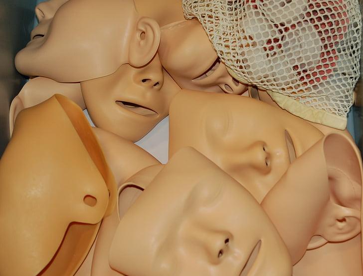 primers auxilis, màscara, República Democràtica del Congo, boca a boca, cara