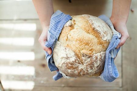 pa, cuina, cuina, fet a casa, aliments, forn de pa, Sa