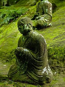 socha Buddhy, Buddha, Japonsko, Buddhismus, pět set, Miyamoto musashi, Kumamoto