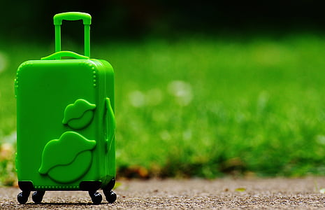 luggage, trolley, travel, farewell, go away, holiday, on the go