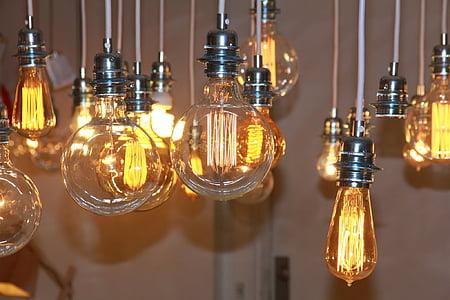 light, idea, energy, lamp, inspiration