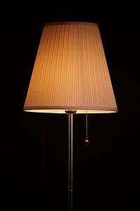 Làmpada, llum, sala d'estar, il·luminació, il·luminació de la sala, disseny d'interiors