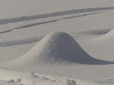 snow, winter, landscape, hill, snow hill, white, cold