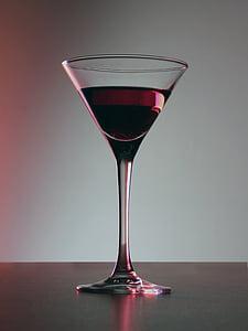 알코올, 음료, 축 하, 칵테일, 크리스탈, 음료, 음료