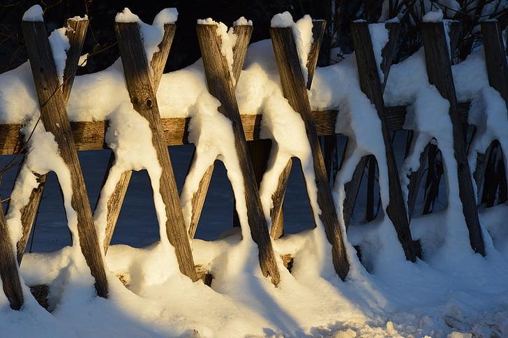 pozimi, sneg, narave, zimsko razpoloženje