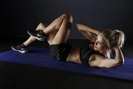 Sports, apmācības, kustība, sportisks, fitnesa, atbilst, aktīvs
