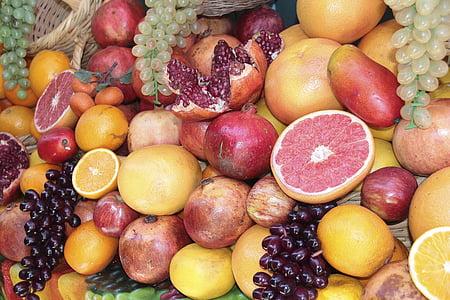 fruita, fruites, Poma, deliciós, dolç, exòtiques, Mediterrània