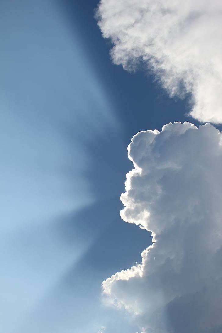 taevas, pilved, loodus, pilved taevas, taevas pilved, sinine taevas pilved, kohev