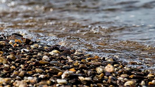 water, NAT, rivier, natuur, Bank, Pebble, stenen