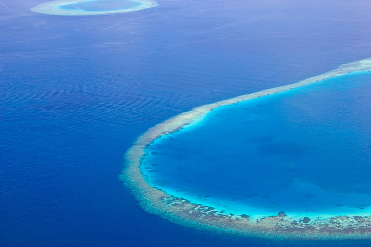 Maldives, illa, oceà, platja, tropical, Turisme, llacuna