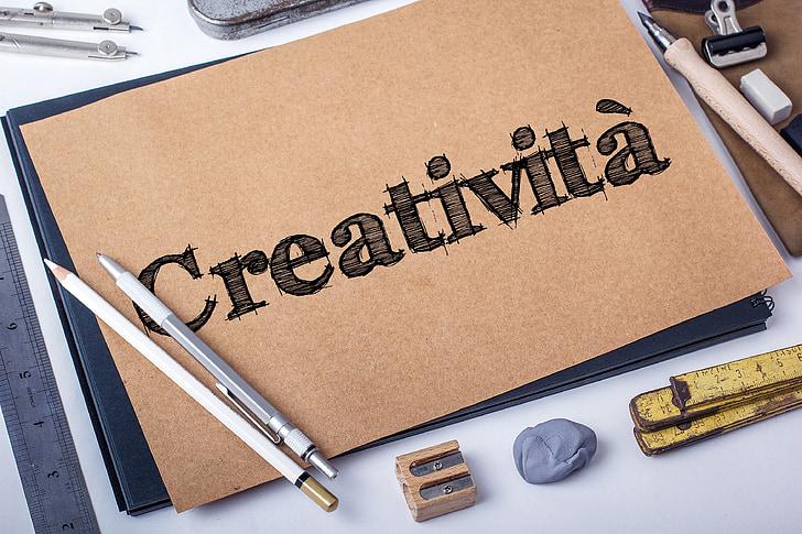 sáng tạo, bản vẽ, viết, suy nghĩ, màu sắc, tâm lý học, ý tưởng