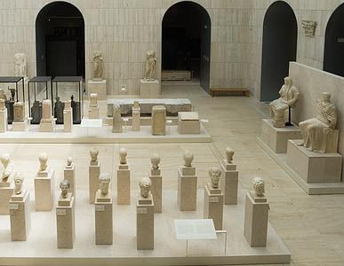 Musée, exposition, Palais, verre, architecture, architecture moderne, sculpture