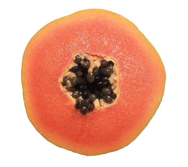 papaia, fruita, aliments, fruits tropicals, Calina