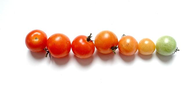 tomaten, groenten, rood, voedsel, Vegetarisch, Frisch, gezonde