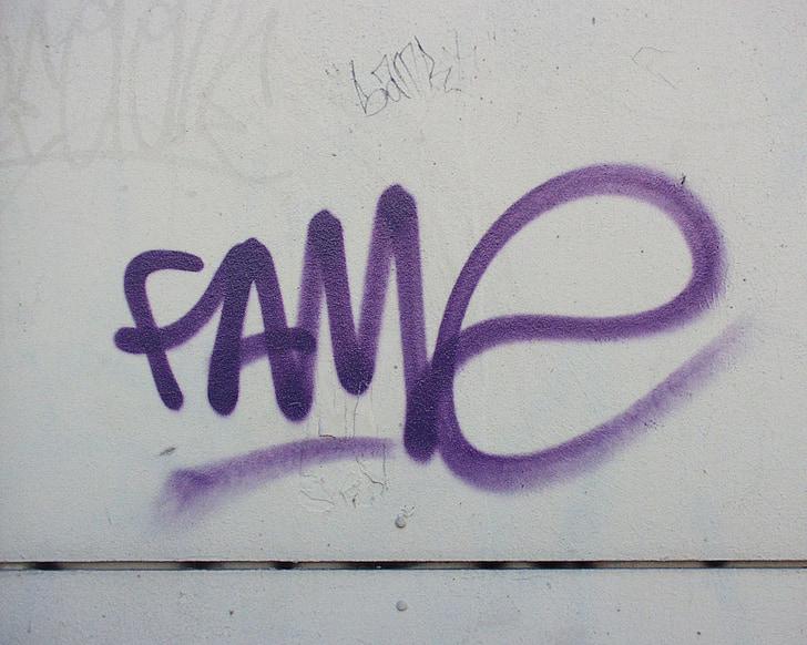 graffiti, fal, grunge, város, haza, Kőműves, homlokzat