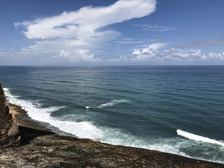 caribbean, beach, water, ocean, sea, coast, sunny