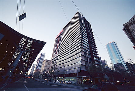 bangunan, Melbourne, CBD, arsitektur, pemandangan kota, Victoria, Australia