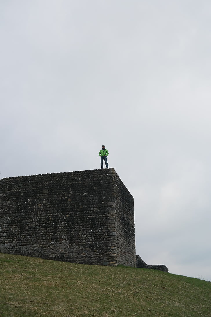 Castle, Kastell irgenhausen, Roman fort, irgenhausen, Pfäffikon, Svájc, lime